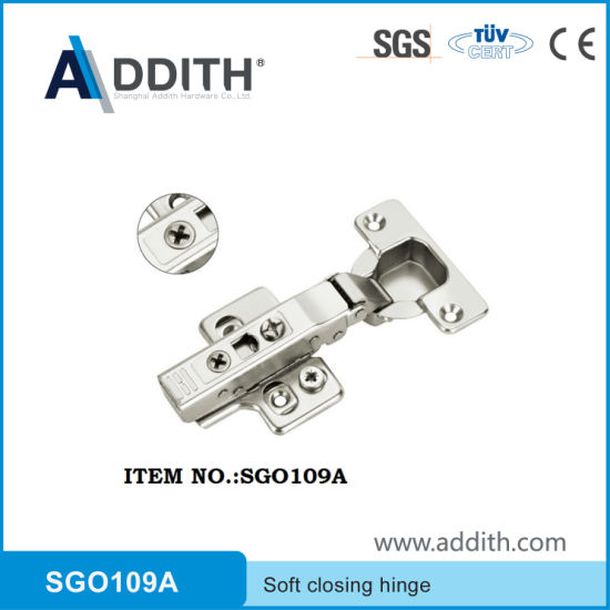 Furniture Hardware Clip-on Hydraulic Door and Kitchen Cabinet Hinge
