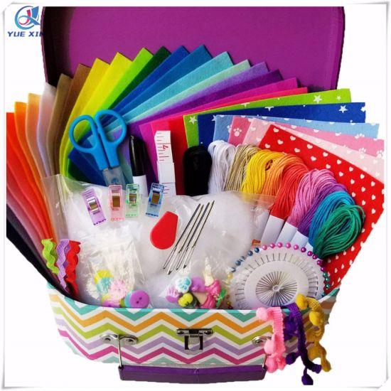 Sewing Kit For Kids Diy Craft For Kids Kids Sewing Kit