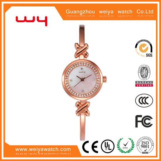 Luxury Watch Gift Woman Fashion Watch (WY-022)