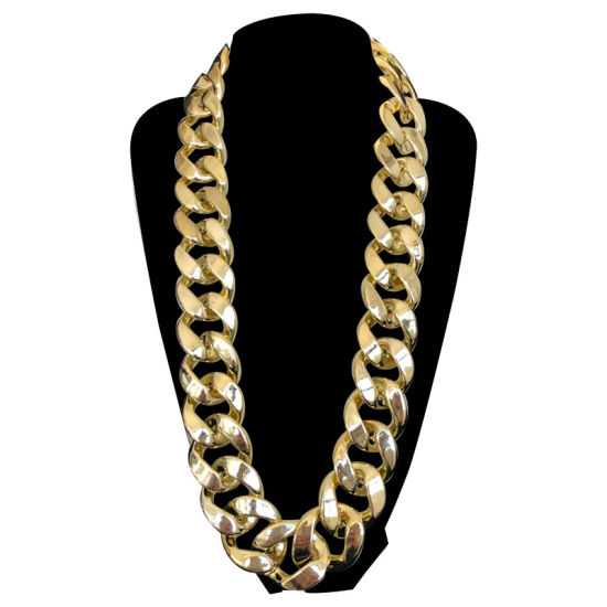 Fashion Jewelry Hip Hop 18k 24k Gold Diamond Cuban Chain Necklace Jewelry For Men China Gold Jewelry And Fashion Jewelry Price Made In China Com