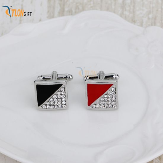 Fancy High Quality Metal Luxury Cufflink for Promotional Gift