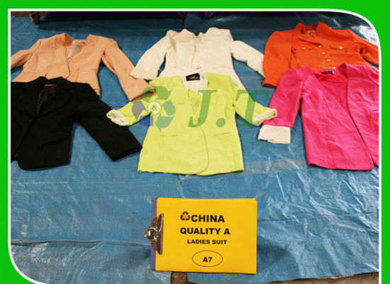 b5638ccdb5f China Used Winter Clothes Good Looking Ladies Suit in Bulk - China ...