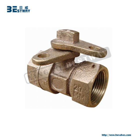 Direct Factory Bronze Locking Ball Valve pictures & photos