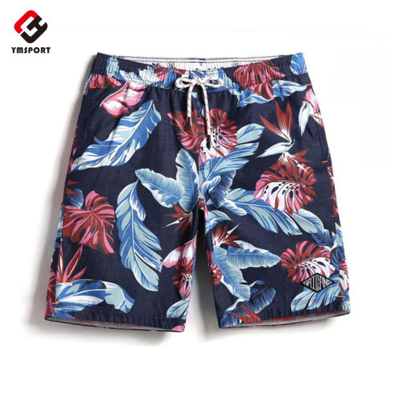 100% Polyester Custom Printed Mens Swimwear Beach Board Shorts pictures & photos