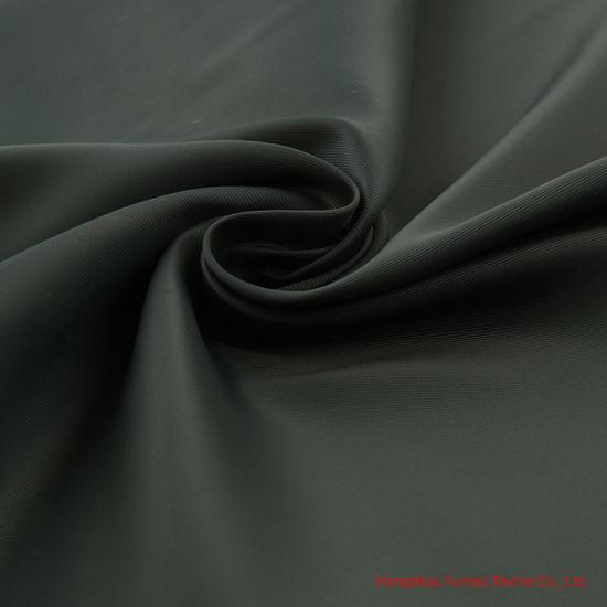 350t Nylon Bi-Stretch Spandex Twill Fabric for Fashion Outdoor Garment and Down Jacket