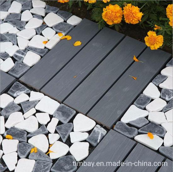 Interlocking Floor Outdoor Grass/Stone Tile