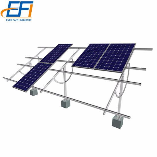 Aluminium PV Structure 10kw Solar Energy Solar Panel Mounting System
