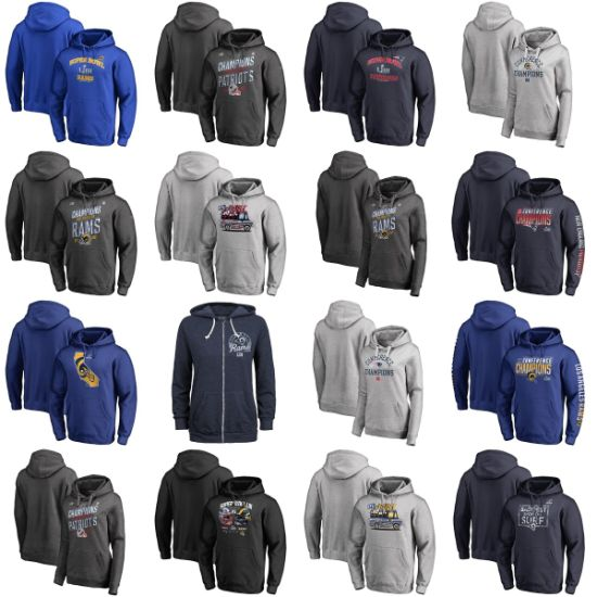 2019 Champions Super Bowl Liii Bound Heart Soul Pullovers Hoodies