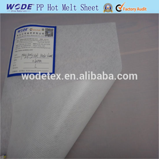 Ping Pong Hot Melt Sheet for Shoe Toe Puff Stiffener