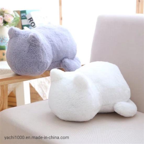 Customized Wholesale Plush Soft Stuffed Cat Soft Animal Kids Toys
