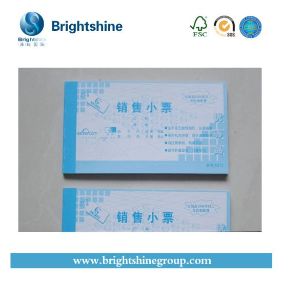 4ply CB CFB CF Self Copy Carbonless/NCR Print Computer Paper for Bill Invoice Book