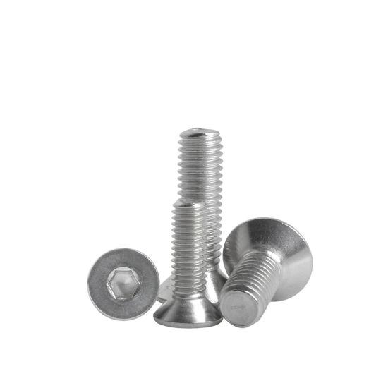 M3 stainless steel 304 SUS Countersunk flat cross head Screw Bolt Nut Washers