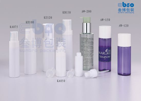 120ml/150ml/200ml Plastic Transparent Customized Packaging Pump Lotion Bottle.