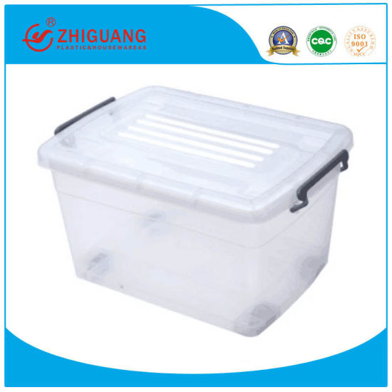 45l 70l Clear Transpa Large Plastic, Large Storage Tote