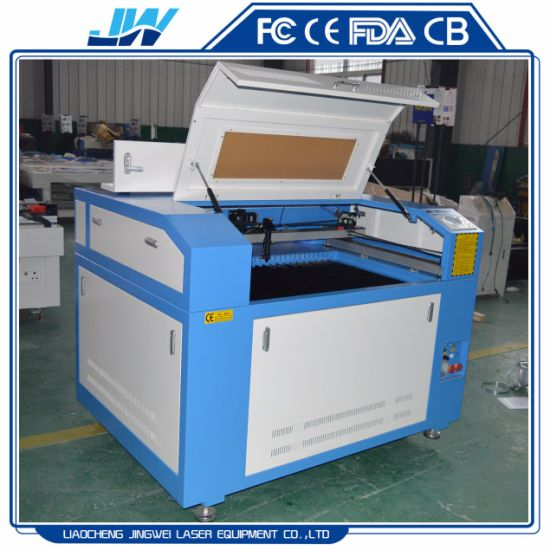 6090 Laser Engraving/Marking/Cutting Machine for Silk/Felt/Lace/Synthetic Technical Textiles