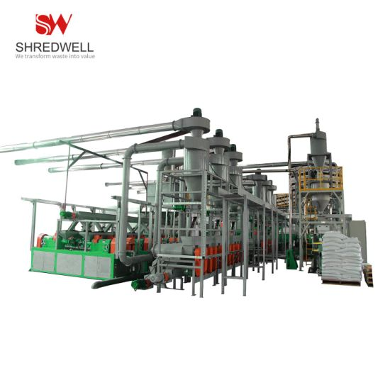 Hot Sale Used/Waste/Scrap Tire Shredding Machine for Recycling Rubber Powder