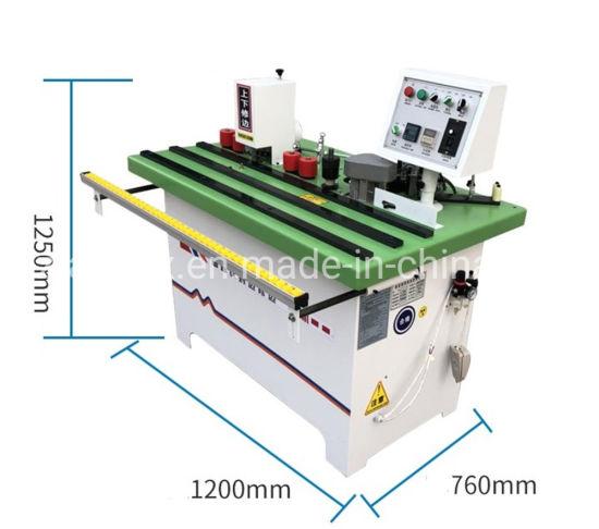 Wf12 Edge Banding Machine for Wooden Sheet/ Kitchen Door Manual Wooden  Plate Trimmer 2mm