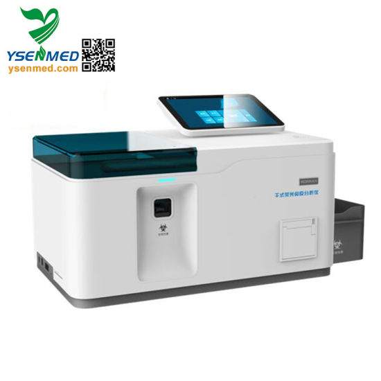 Medical Hospital Yste-Fia12 Medical Multi-Channel Immunoassay Analyzer pictures & photos