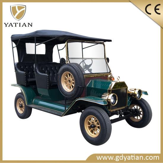 China Manufacturer Resort Golf Buggy Car Electric Vintage Car
