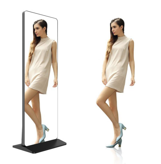 Android Magic Mirror, Magic Mirror Photo Booth, Touch Screen Mirror Adversting Machine Display