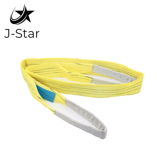 3t*2m Yellow Polyester Lifting Webbing Sling