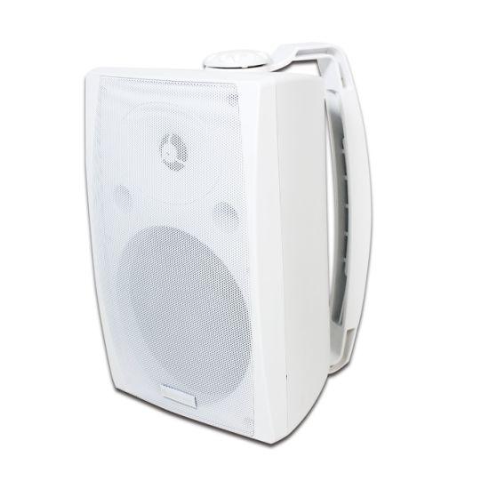 6.5 Inch 30 Watt 4 Ohm Plastic HiFi Stereo Sound Audio Wall Mounted Loudspeaker PA System Public Address Speaker