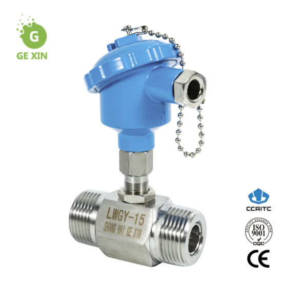 1 1/4 Inch Turbine Flow Meter Water Sensor NPT Thread Connection