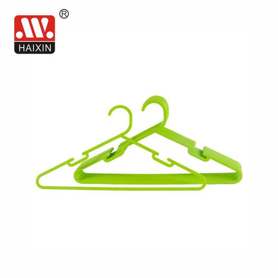 Supermarket Plastic Pants/ Trousers/Bottom/Girl's Skirt with Clips Hangers for Household