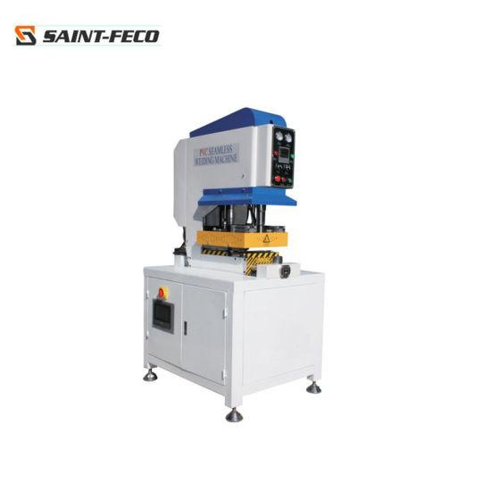 UPVC Window Door Machinery/UPVC and PVC Window Profiles Single Head Seamless Welding Machine