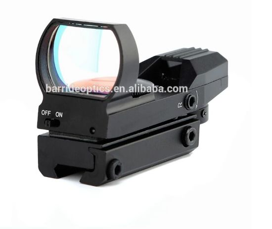Tactical Reticle Red DOT Open Reflex Sight for 22 mm Rails (BM-RSK6004)