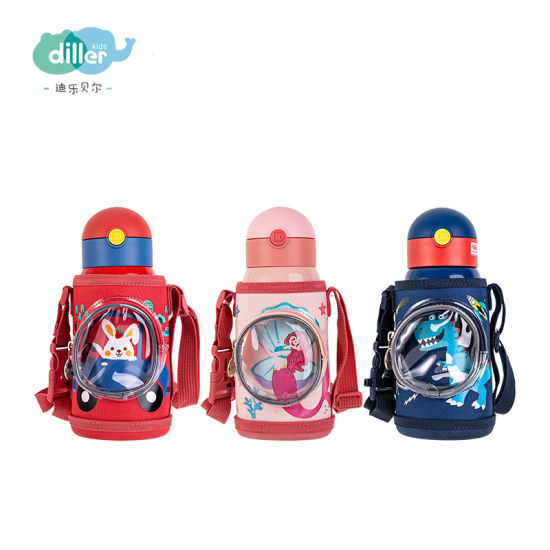 Pretty Cute Double Wall Stainless Steel Thermos Vacuum Flasks for Kids