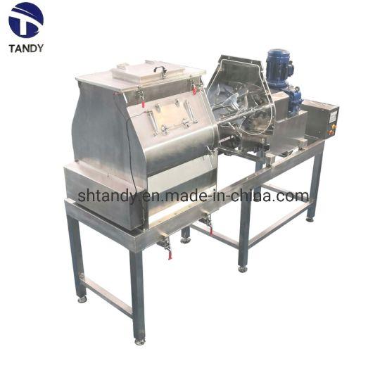 Professional Automatic Industrial Commercial Open-Door Double Shaft Mixer