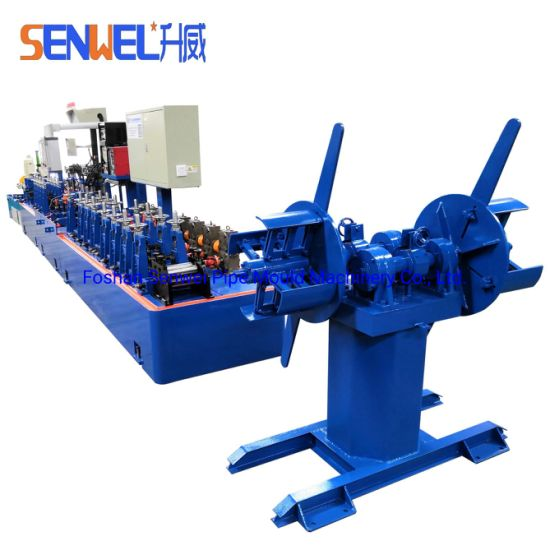 Stainless Steel Pipe Making Machinery Production Line Tube Mill