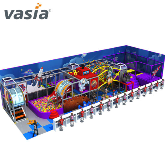 Multi-Functional New Design Kids Entertaining Colorful Indoor Playground Soft Play