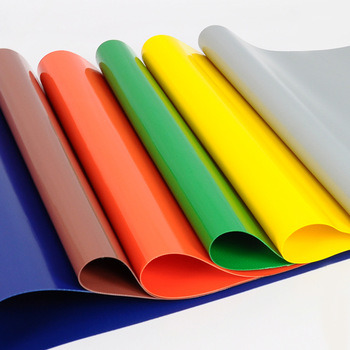 300GSM ~ 1500GSM Super Strong PVC Tarpaulin Fabric Roll