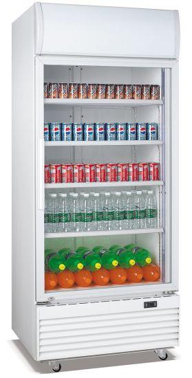 Big Capacity Commercial Visi Cooler for Beverage/Soft Drink/Beer Cooling (LG-660FM)