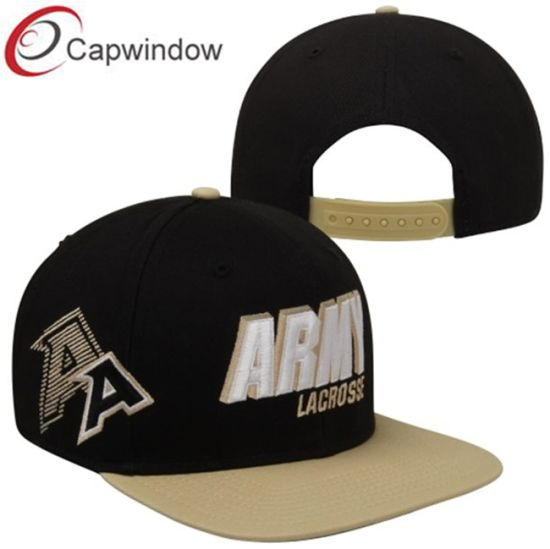 debee67f92c China Black Embroidered Snapback Hat for Sports Team (01277) - China ...