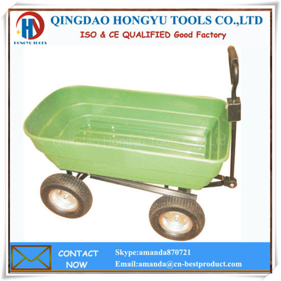Tc2145 Plastic Tray Dumping Garden Tool Cart