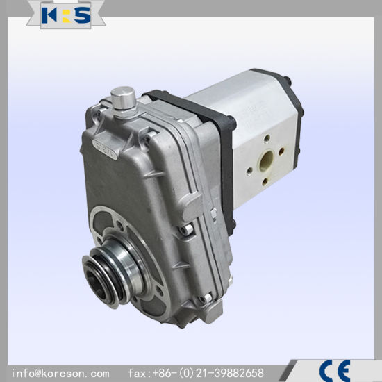 Km7001+Pump 55cc Pump and Gearbox Combination