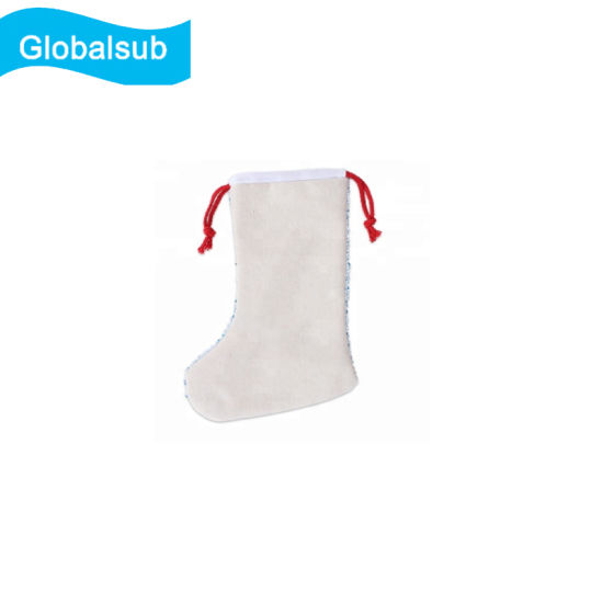 Sublimation Blank Sequins Christmas Stocking