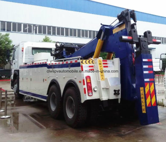 Sinotruk Heavy Duty Wrecker 26t Road-Block Removal Truck pictures & photos