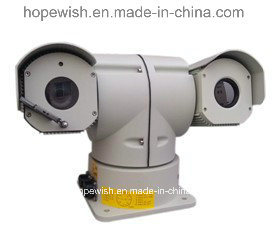 Security PTZ Laser Camera for 500m Detection