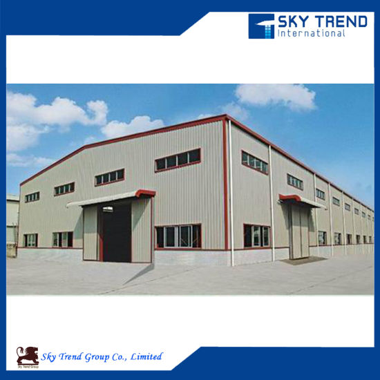 Steel Structure Industrial Work Shop Steel Space Frame Building