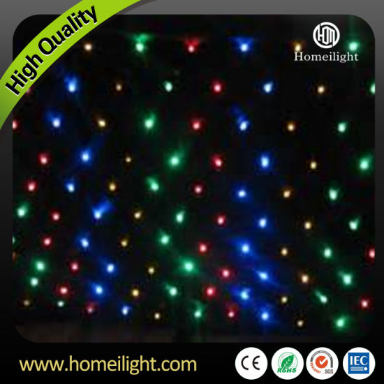 RGBW 4*6m LED Star Cloth pictures & photos