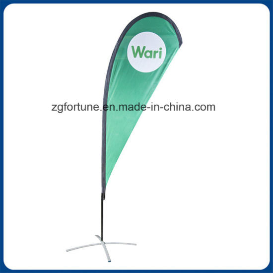 Wholesale Price 5m Outdoor Advertising Beach Flag Banner for Advertising