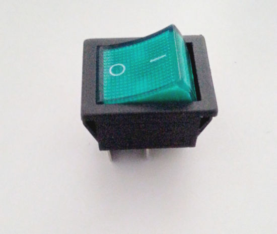 Rocker Switch Push-Button Electric Switch/Push Button Switch Snap Kcd3 pictures & photos
