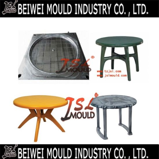 Plastic Injection Round Dining Table Mould
