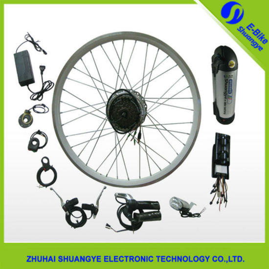 36V 250W 7 Gear Ebike Kit with Litium Battery pictures & photos