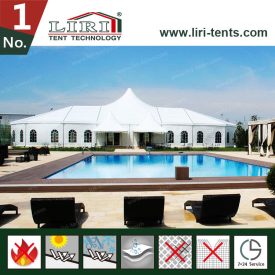2017 Customized Royal Tent with High Peak and Waterproof PVC Wall & China 2017 Customized Royal Tent with High Peak and Waterproof PVC ...