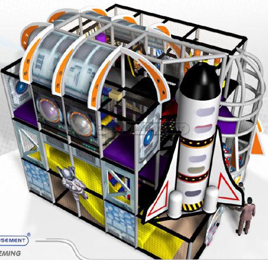 Cheer Amusement Space Theme Kids Indoor Playground Equipment